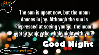 good night inspirational quotes and images