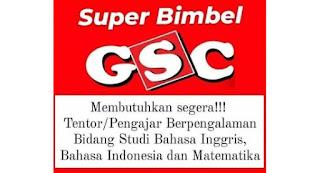 Lowongan Kerja Tentor Super Bimbel GSC Banda Aceh