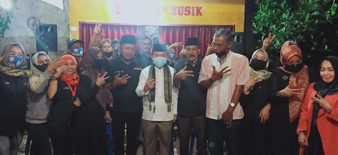 jambi dangdut community (jdc) dukung al haris-sani