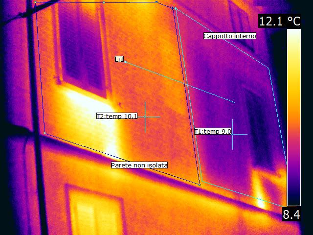 Termografia cappotto interno come funziona - Cappotto interno materiali ...