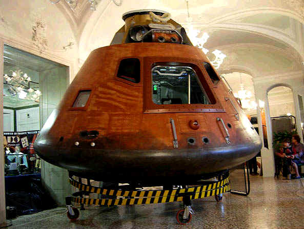"Command Module Replica ""Casper"""