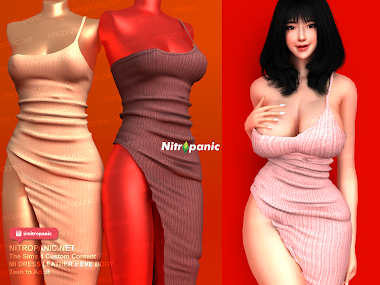 MI DRESS for  The Sims 4