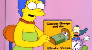 prediksi the simpson virus ebola