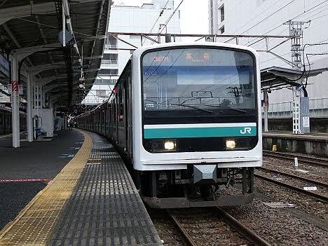 【上野を追い出されてがっばってます】E501系の高萩行き