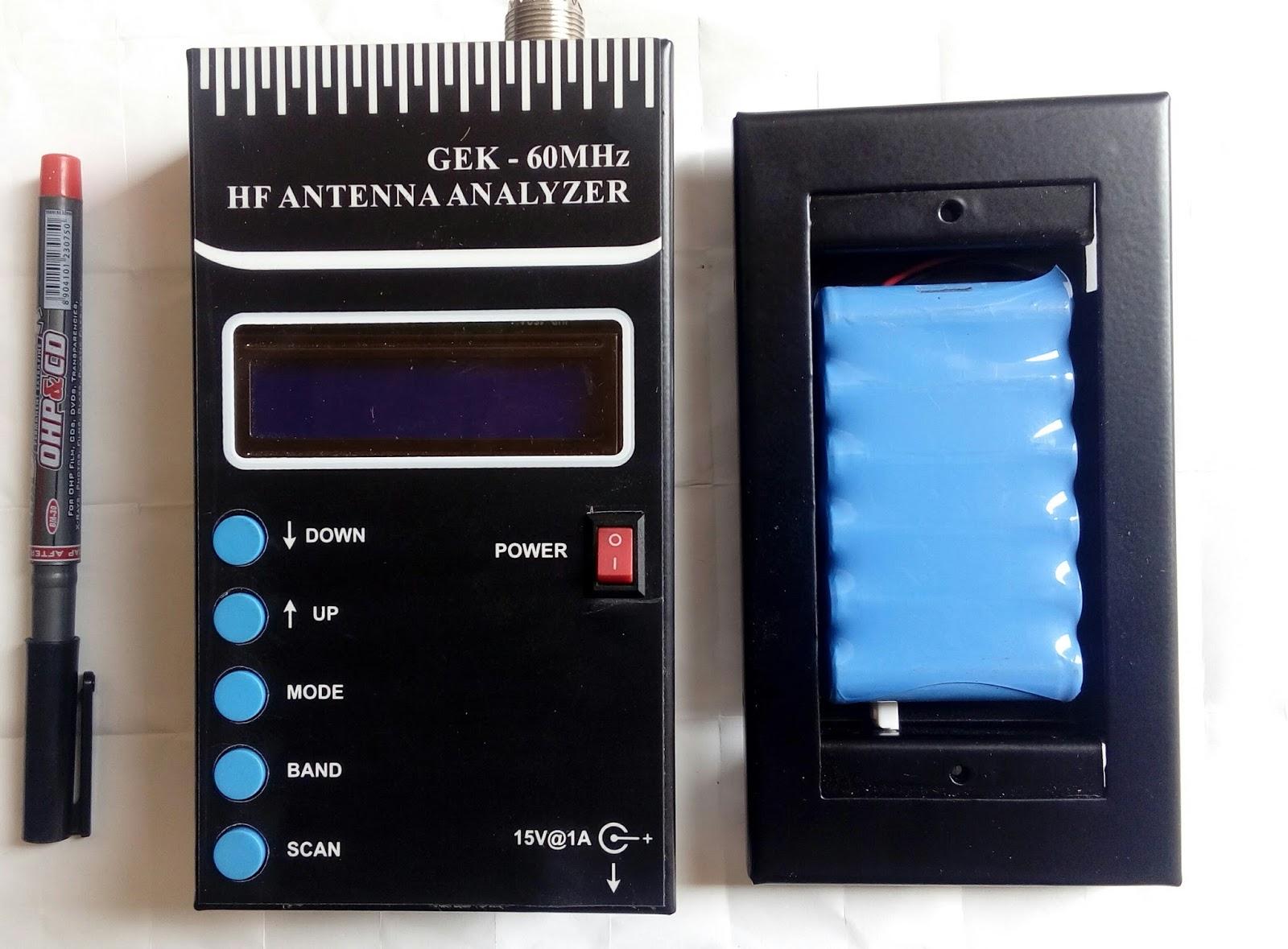 Home Brew Corner: GEK - Antenna analyzer