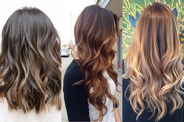 Окрашивание волос бейбилайтс