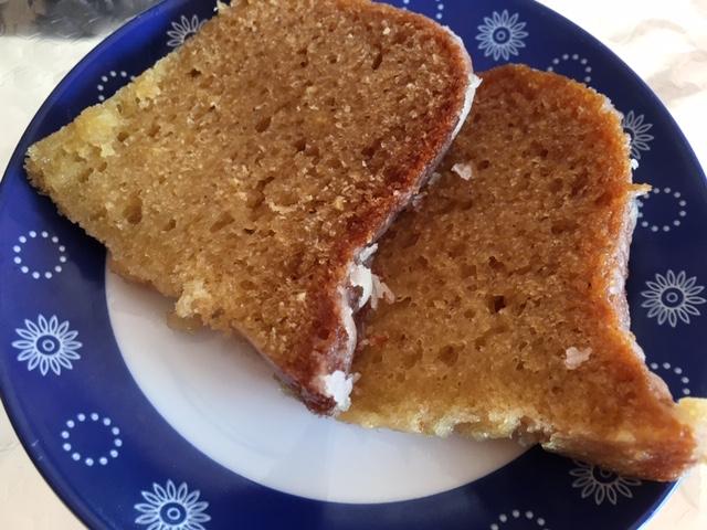 Bundt Cake De Naranja Y Almendras Con Glassa De Azahar En Slow Cooker