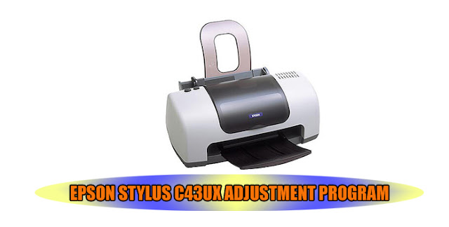 Epson Stylus C43UX Printer Adjustment Program