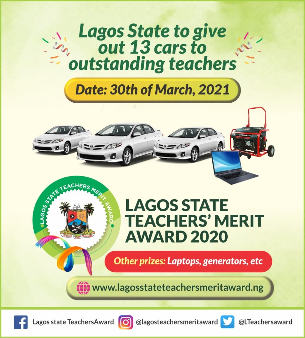 LASG Set to Reward 13 Teachers with Cars & Other Prizes