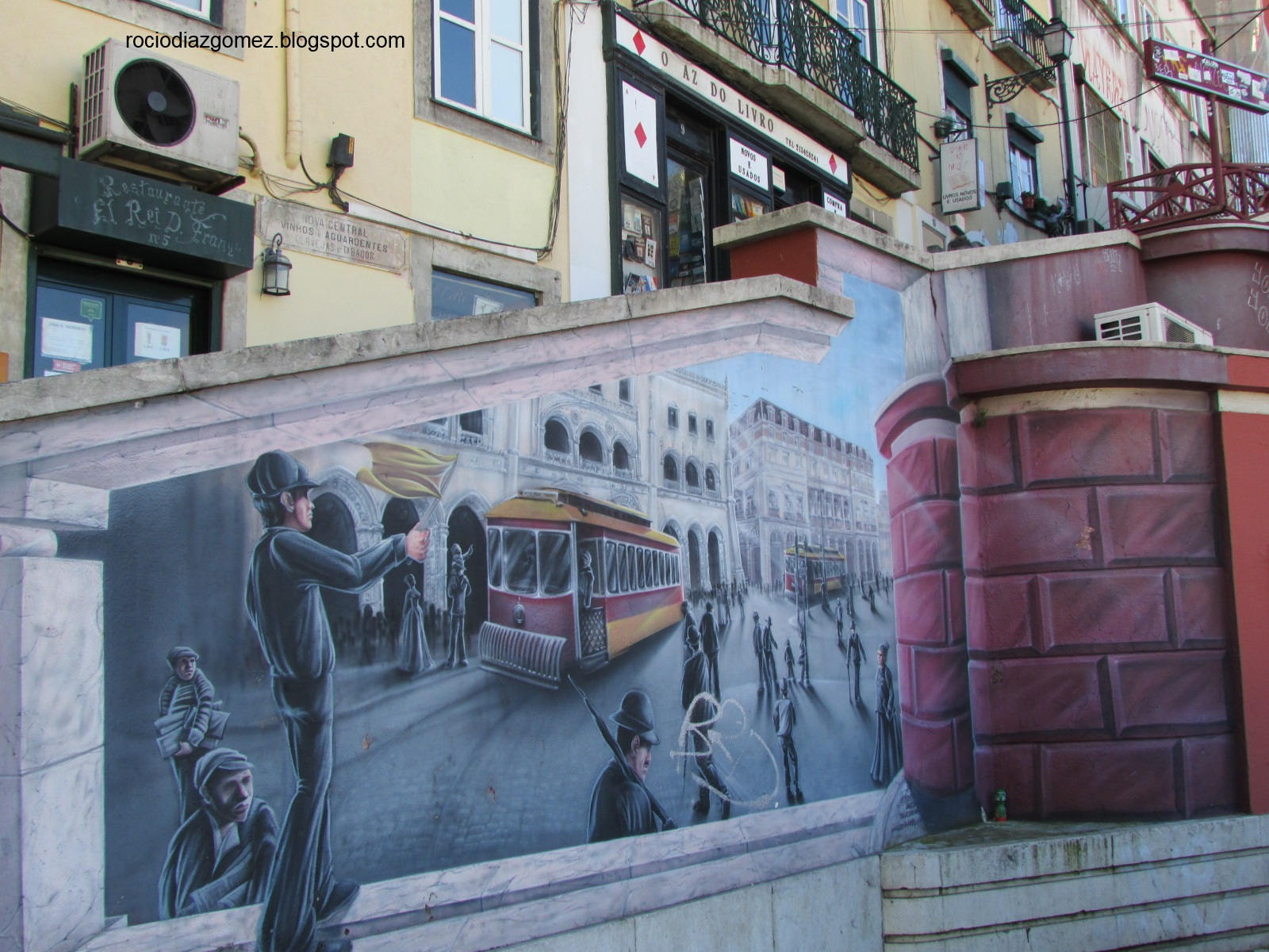 Rocio Diaz Gomez Una De Murales Para El Fin De Semana Lisboa Y La