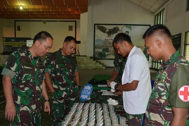 Divisi 3 Kostrad Perang Melawan Narkoba