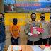 Personil Polsek Medan Kota Tangkap Kurir 400 Butir Ekstasi