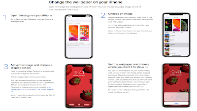 How to Change Wallpaper on iPhone 11 Pro Max, iPhone 11, iOS13