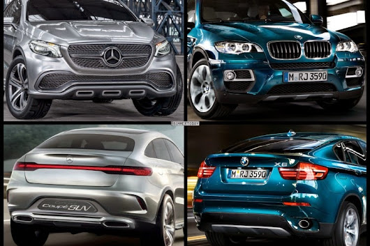 Mercedes-Benz Coupe SUV Concept 2014-2015