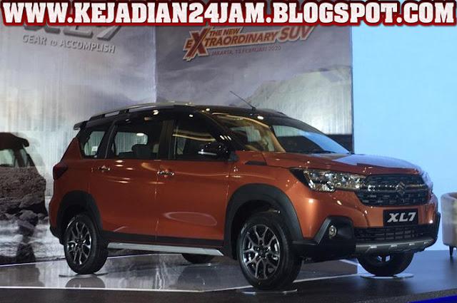 Suzuki Perkenalkan Mobil SUV Tujuh Penumpang Seri XL7 Di Bandung