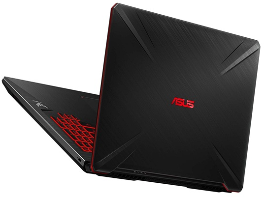 ASUS FX705GE-EW103: panel Full HD de 17.3'' + procesador Core i7 + gráfica GeForce GTX 1050 Ti (4 GB)