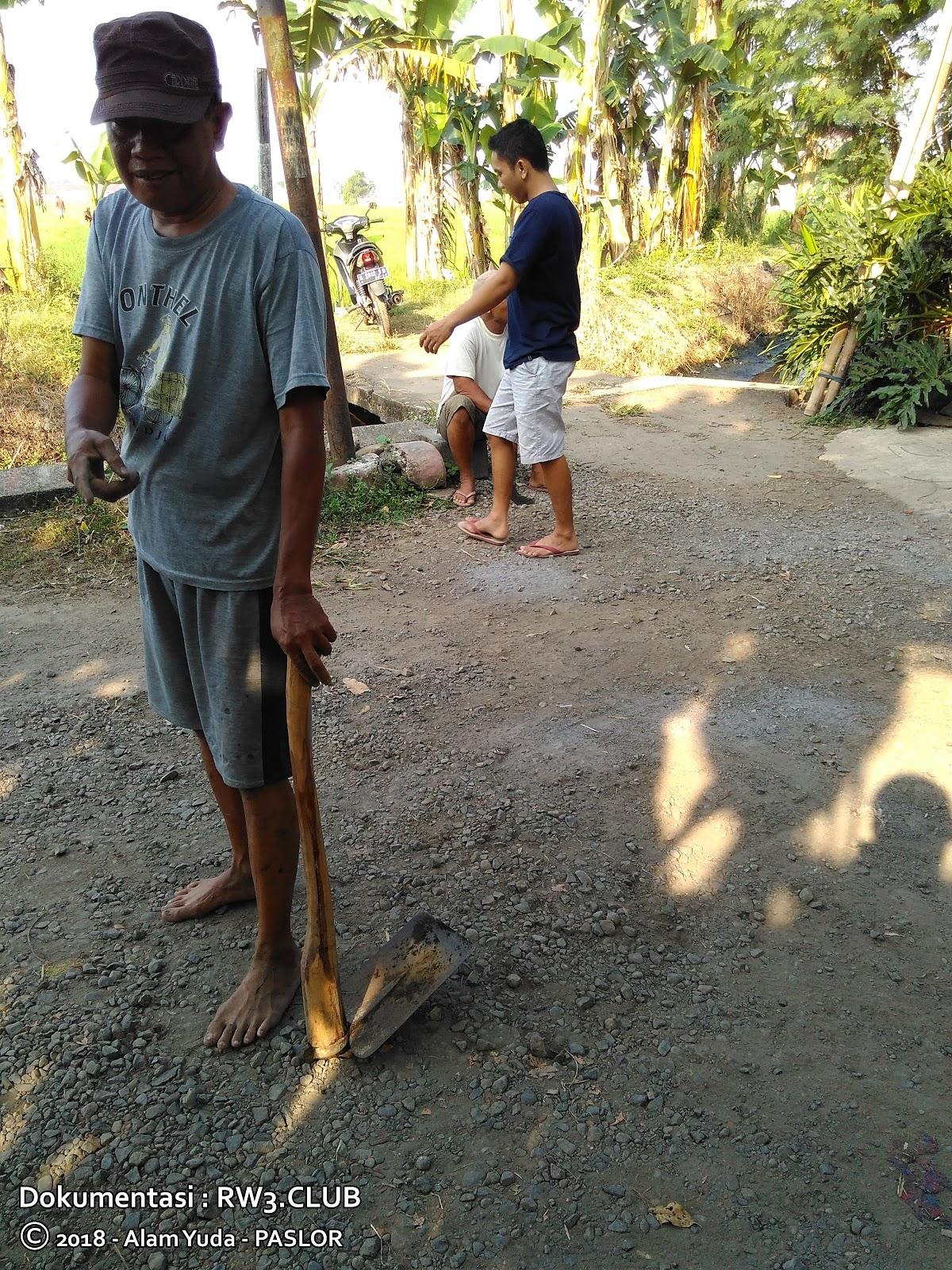 Danda Ade Prastya, Suliyanto - Kerja Bakti RW-3 Pasuruhan Lor, Kudus