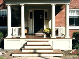 Desain Tangga Depan Rumah Kayu