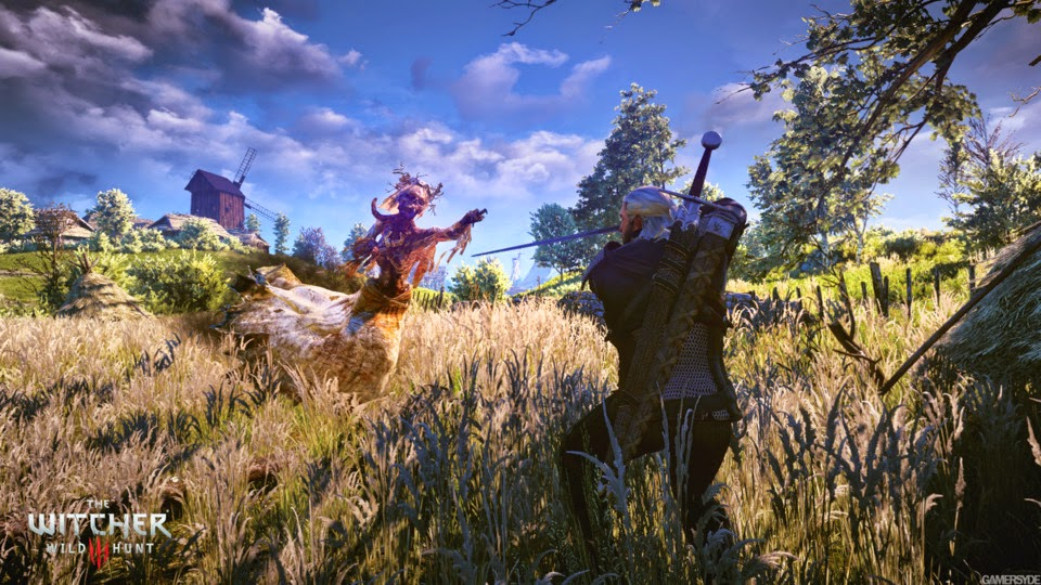 لعبة The Witcher 3