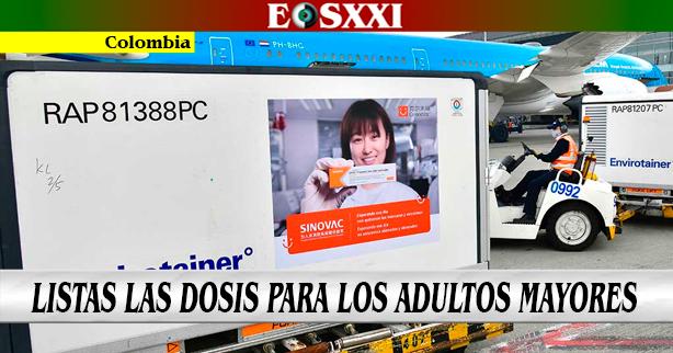 Asignadas 920.615 vacunas de Sinovac contra el covid-19