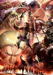 Ver novela Shingeki no Kyojin Season 3 Part 2 online
