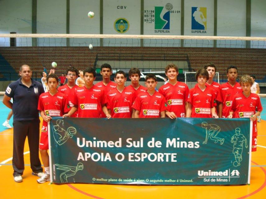 4b113c9873 A equipe de vôlei masculino pré-mirim da Secretaria Municipal de Esportes e  Lazer de Pouso Alegre participa no próximo final de semana de mais um  circuito ...