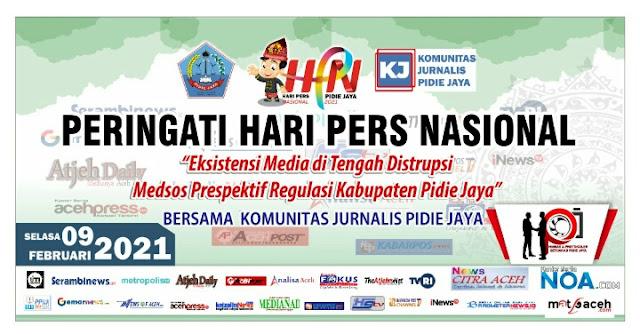 Memperingati Hari Pers Nasional komunitas Jurnalis Pijay Gelar Aksi Sosial.