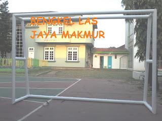 Tiang gawang futsal mini Bogor