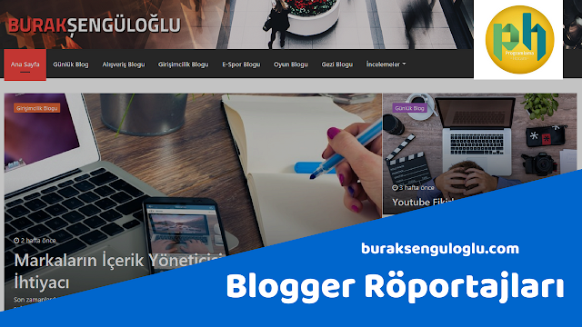 Blogger Röportajları buraksenguloglu.com