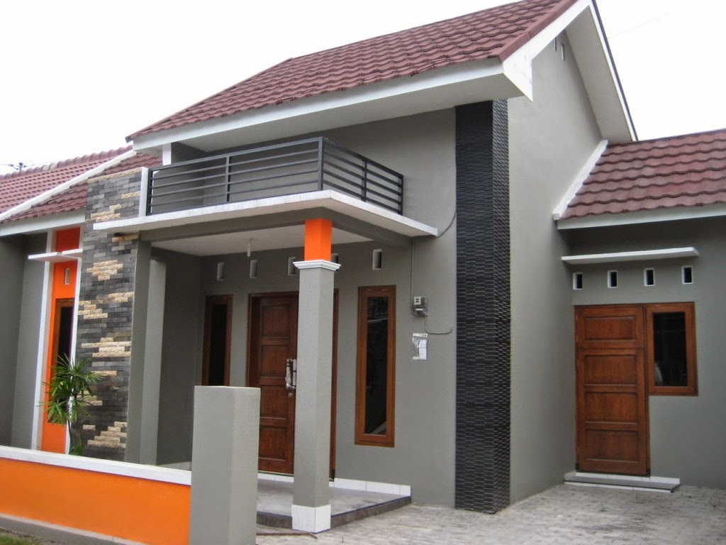Bentuk  Exterior Rumah  Dekorhom