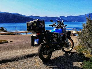 viaggio in moto africa twin