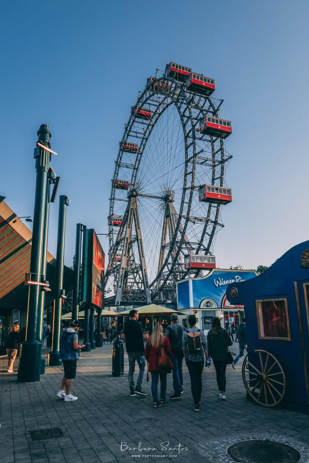 Giant wheel at Würstelprater - Vienna
