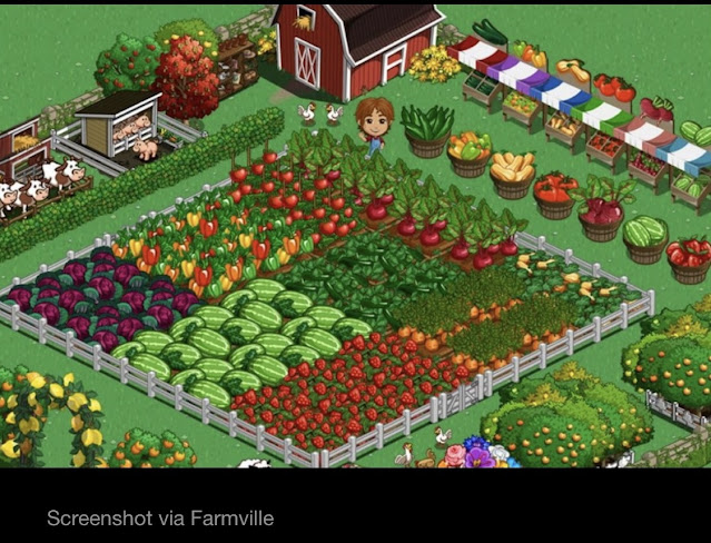 Screenshot from FarmVille:
