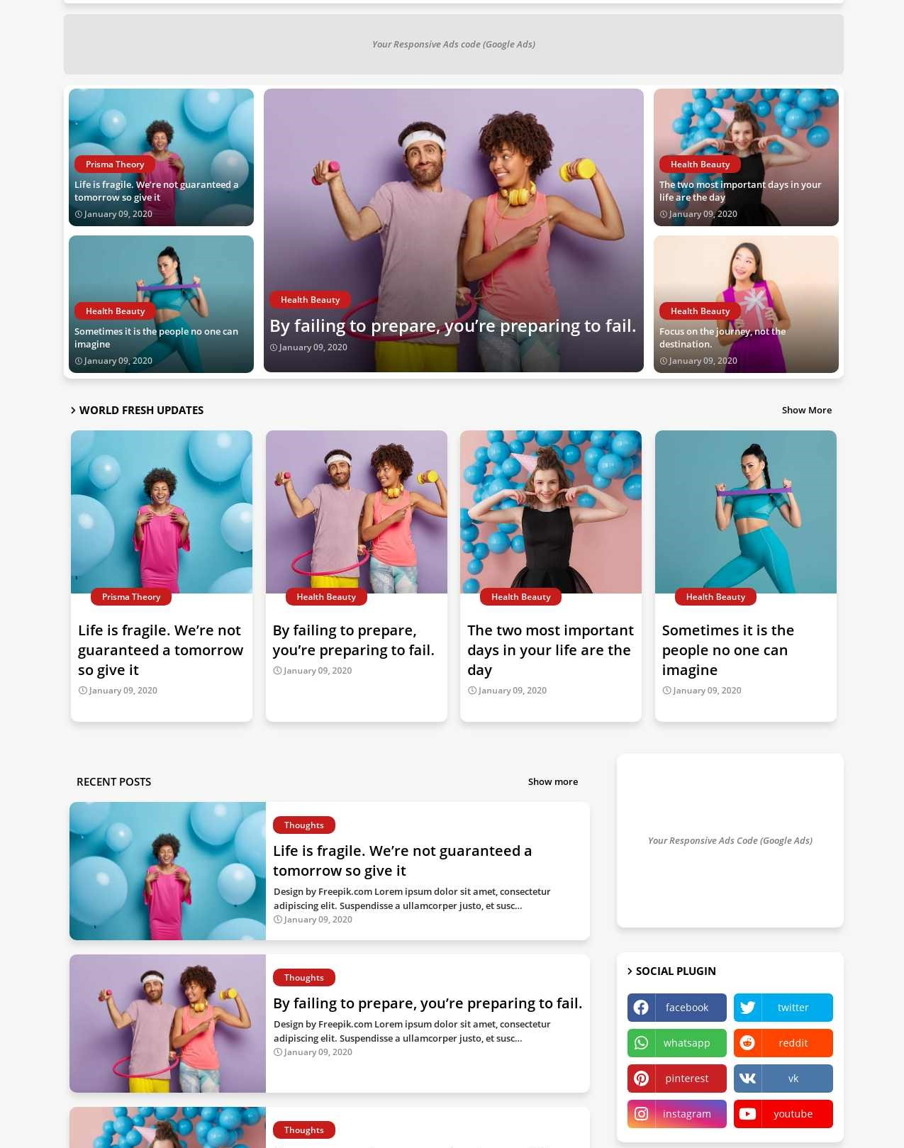 Light Speed  Blogging And Responsive Blogger Template