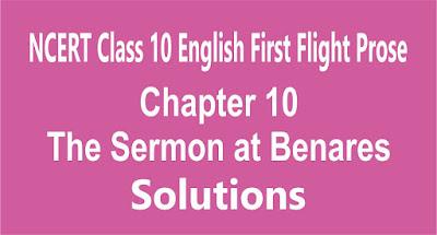 Chapter 10 The Sermon at Benares
