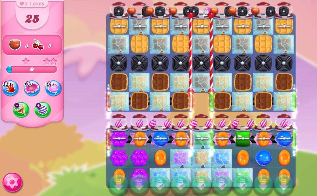 Candy Crush Saga level 6725