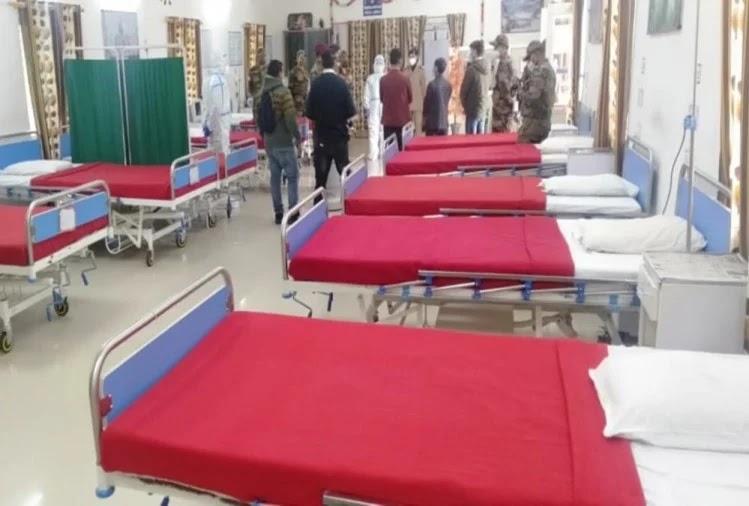सेना ने तैयार किया कोविड अस्पताल