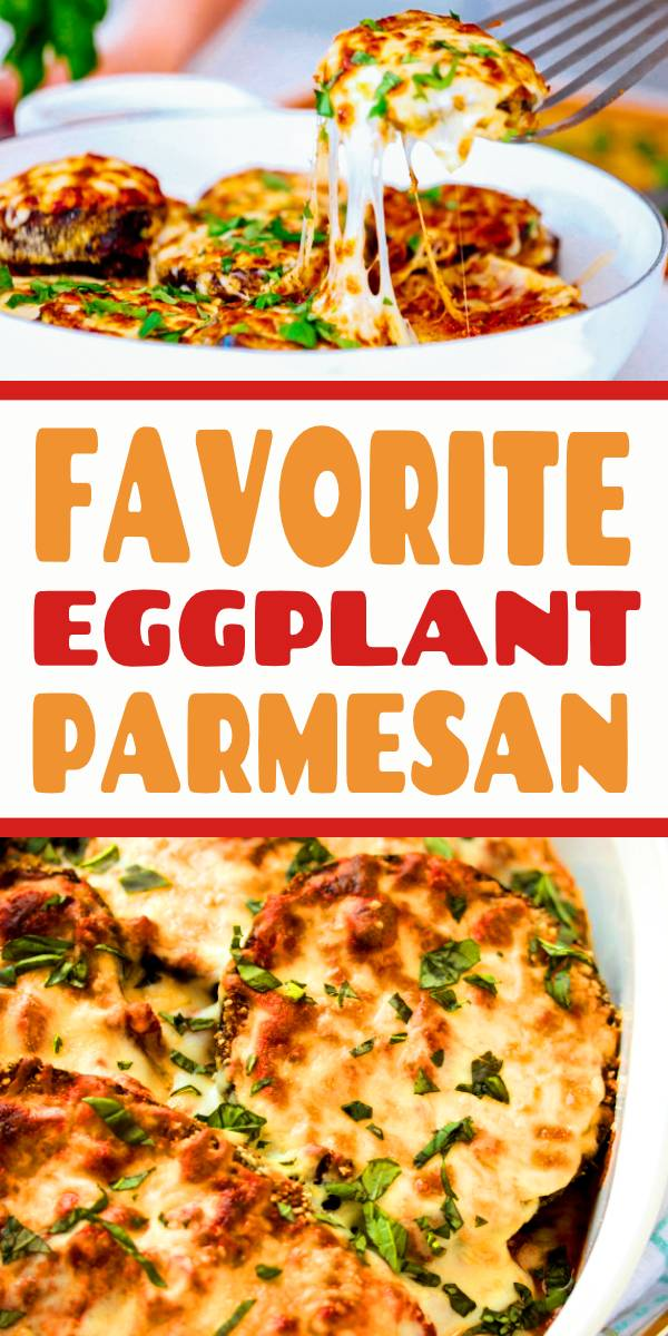 My Favorite Eggplant Parmesan Recipe #eggplant #parmesan #dish #cheese #italianrecipe #italianrecipe