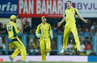 Jason Behrendorff 4-21 - India vs Australia 2nd T20I 2017 Highlights