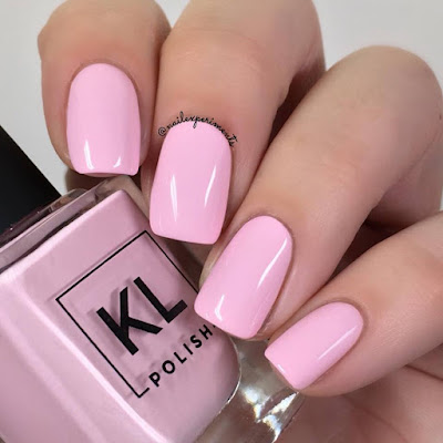 KL Polish Gum Would Be Perfection Ethereal Garden Collection Spring 2018 Swatch and Review Nail Experiments