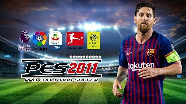 PES 2011 APK Update 2020 Offline Download