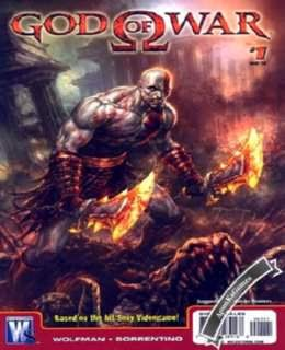 God of War 1 Cover, Poster