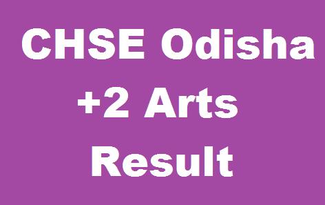 Odisha +2 Arts Result 2020