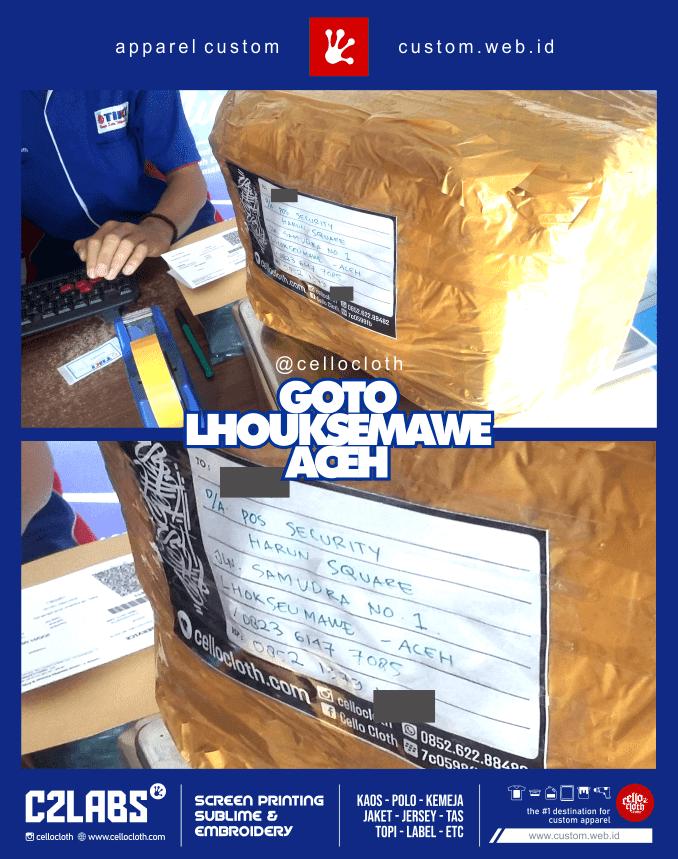 Pengiriman Paket Ke Lhouksemawe Aceh by Tiki - Celloshipcc