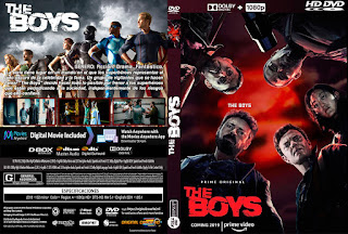 THE BOYS – 2019 [COVER – DVD]