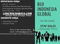 Lowongan Kerja Surabaya di Biji Indonesia Global Juni 2020