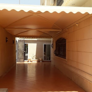 مظلات مداخل الرياض