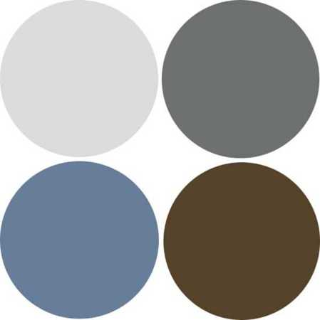 Grey, brown, blue, cream colors. Color scheme /combo (With ...  |Brown Blue Color