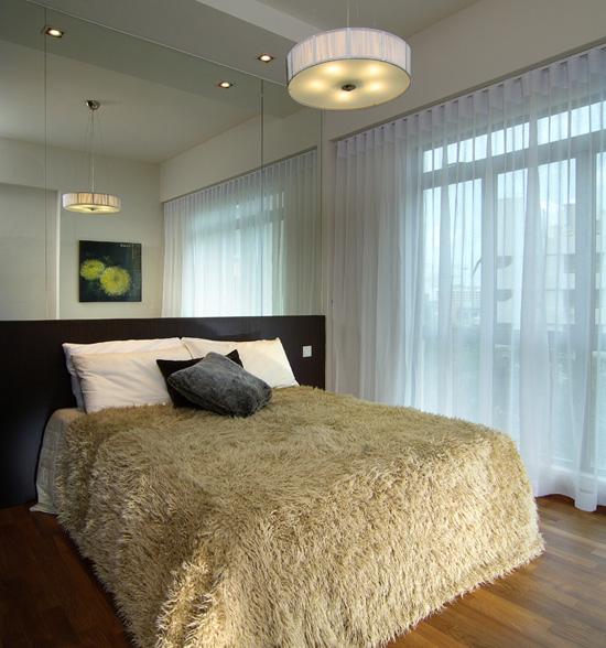 Dormitorios modernos en tonos marrones y crema via www - Dormitorios de diseno moderno ...