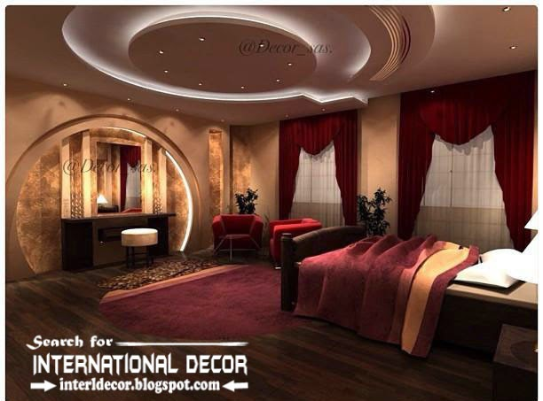 Modern Bedroom Ceiling Pop Design And Drywall